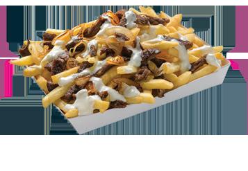 Greek Loaded Fries
