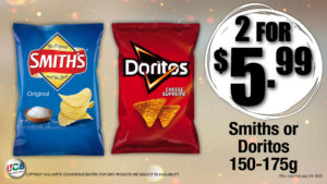 Smiths chips special