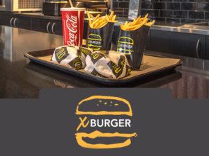 x burger brand