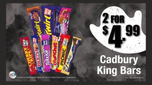x convenience chocolate promo